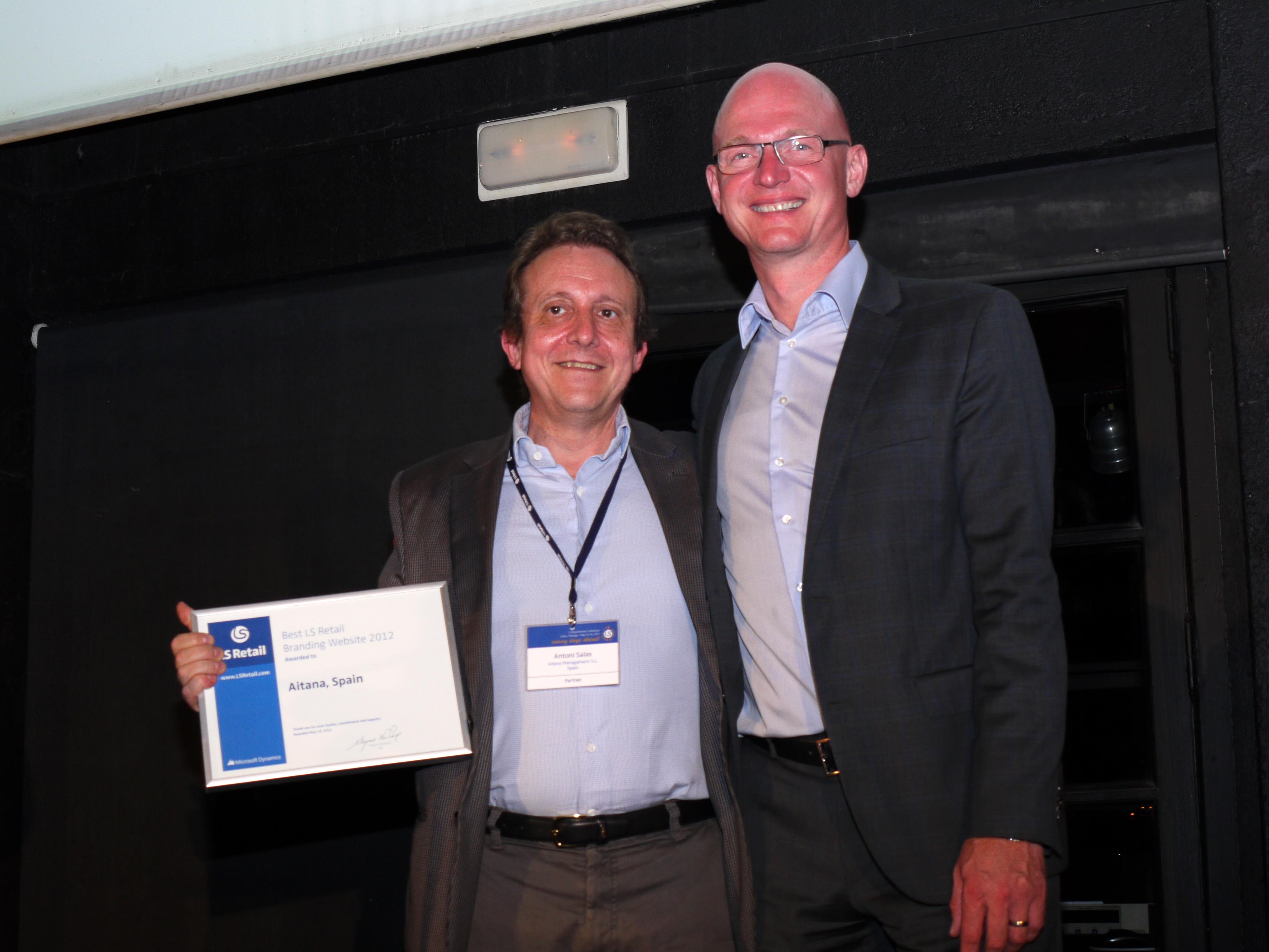 LS Retail Award 2012