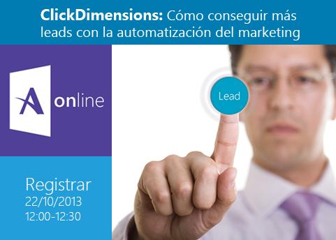 Clickdimensions webinar