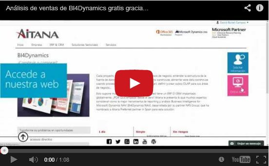 Análisis de ventas de BI4Dynamics gratis gracias a Aitana