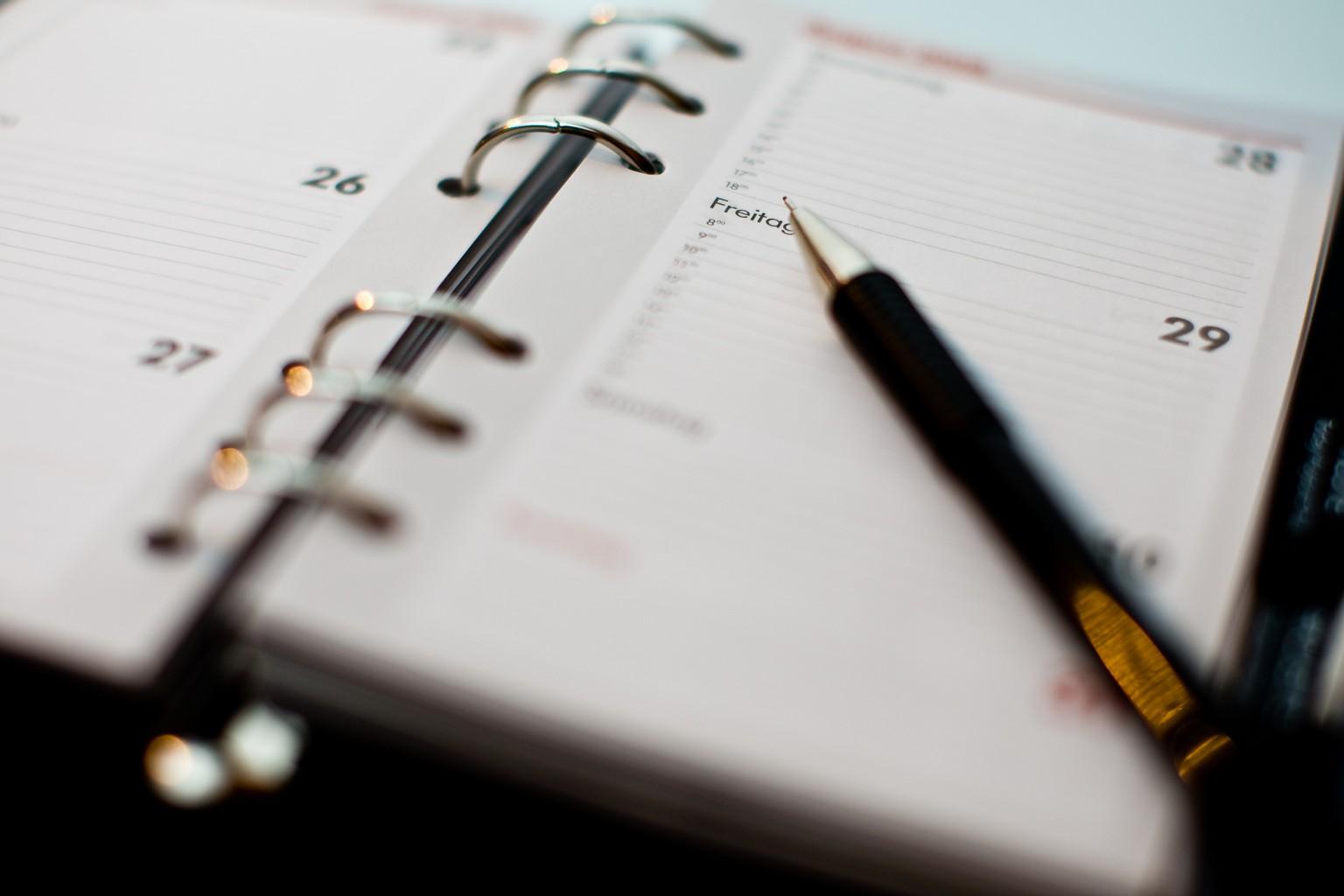 Agenda de seminarios online de Aitana