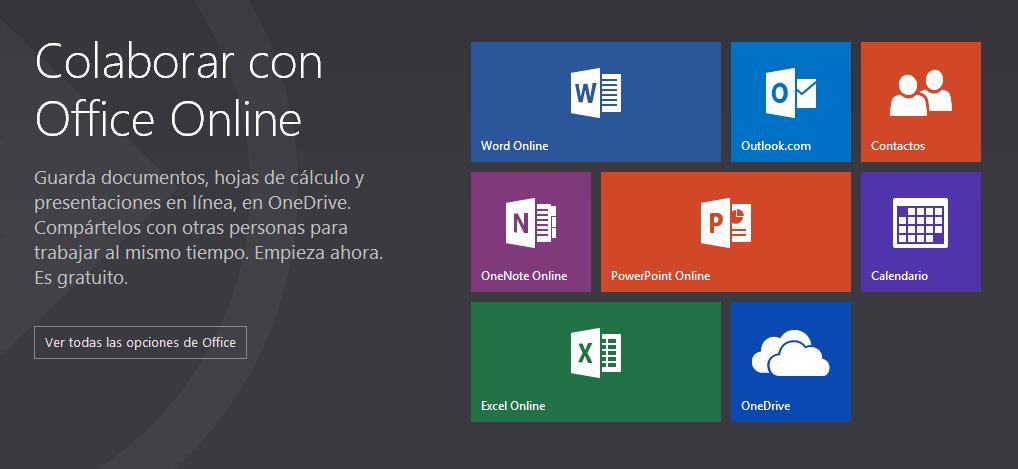 Las Office Web Apps son ahora Office Online