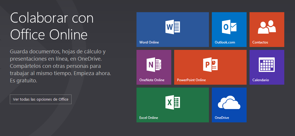 Las Office Web Apps son ahora Office Online