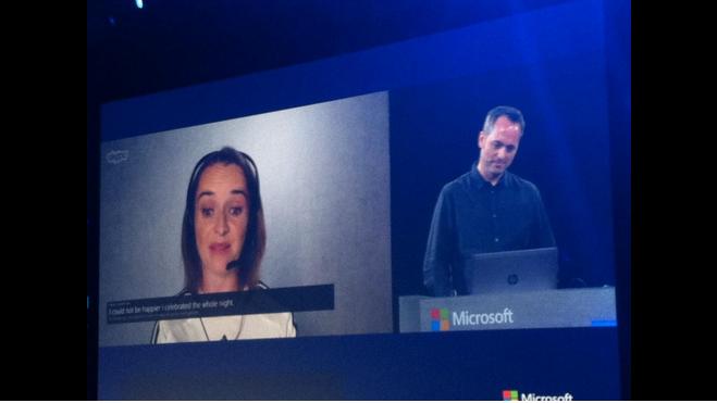 Traductor instantáneo de Skype