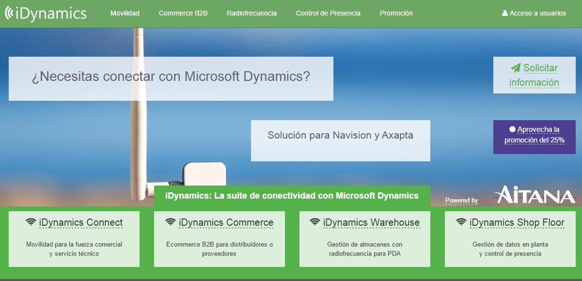 iDynamics nuevo site