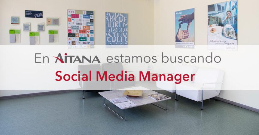 Social Media Manager para Aitana
