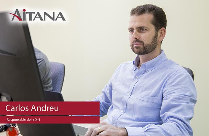 Carlos Andreu presenta el departamento de I+D+i
