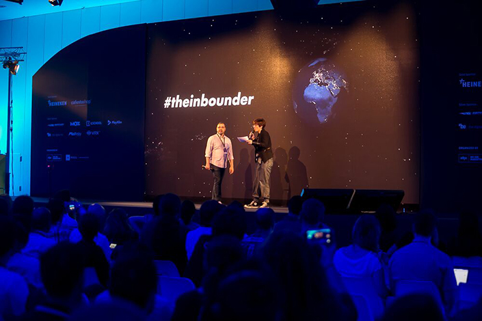 The Inbounder Global Conference y Aitana