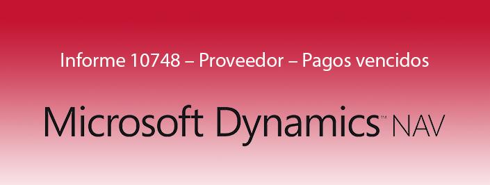 Microsoft Dynamics NAV se adapta al cambio de la ley de morosidad con el informe 10748