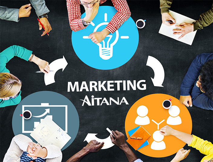 Crece y se reinventa el departamento de Marketing de Aitana