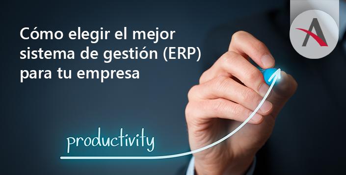 Como elegir el mejor ERP para tu empresa