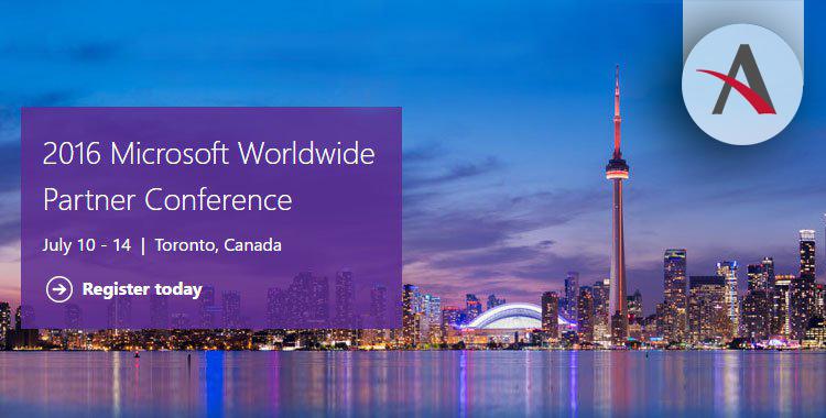 Microsoft Worldwide Partner Conference 2016. ¡Nos vamos a Toronto!