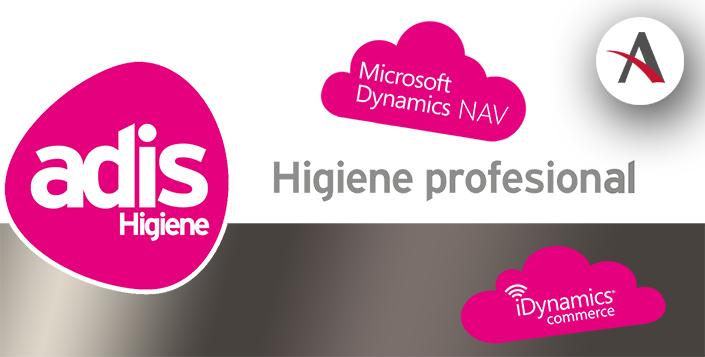 Adis Higiene sube Dynamics NAV e iDynamics Commerce a la nube con Aitana