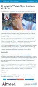 Blog de Aitana en formato AMP