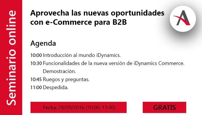 Aprovecha las nuevas oportunidades con e-Commerce para B2B