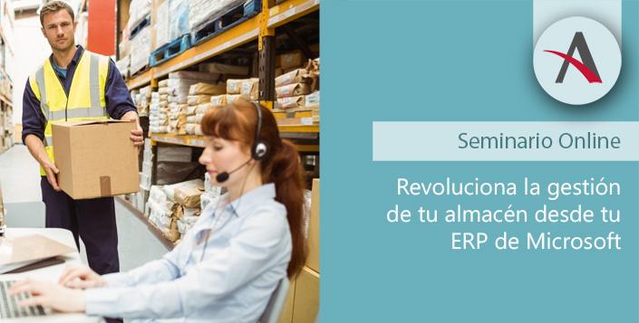 Revoluciona la gestión de almacenes desde tu ERP de Microsoft