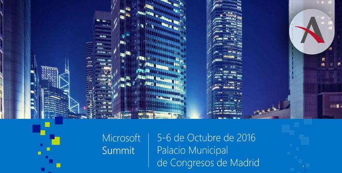 Asistimos al Microsoft Summit 2016 en Madrid
