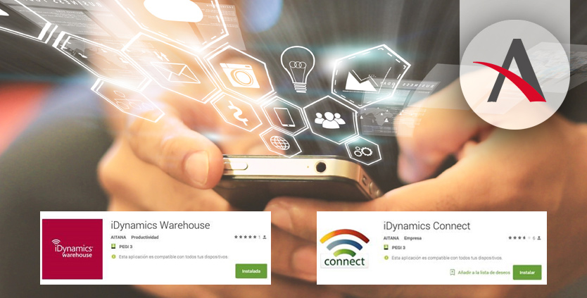 Las últimas versiones de iDynamics Connect y Warehouse ya en tu móvil