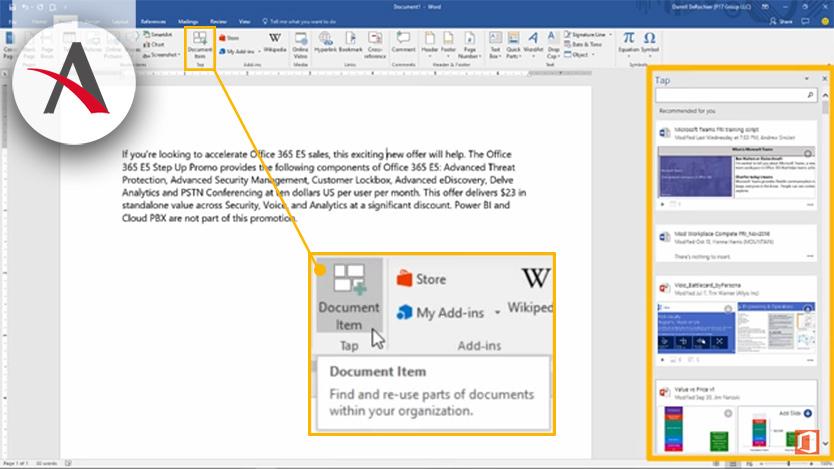 Nuevas actualizaciones de Office 365 para noviembre
