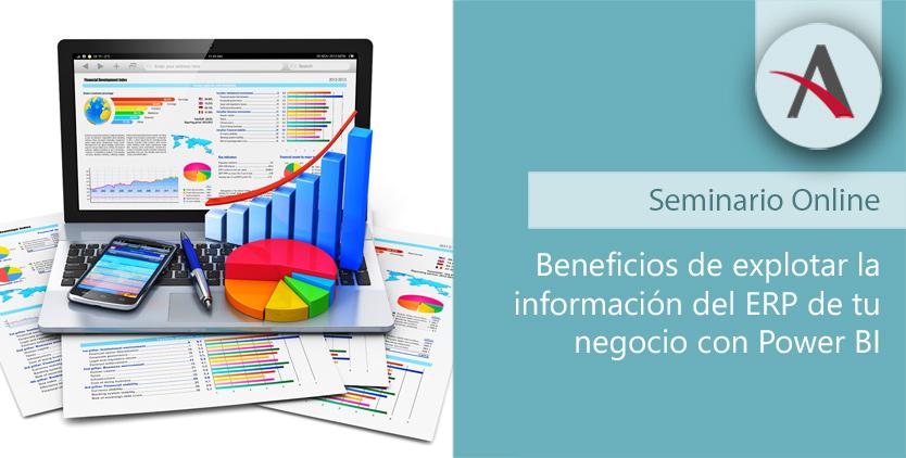 Beneficios de explotar la información del ERP de tu negocio con Power BI