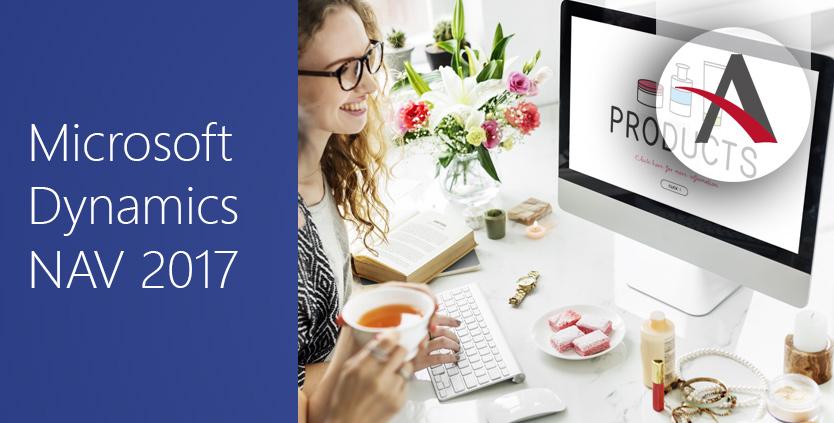 Categoría y atributos de producto en NAV 2017