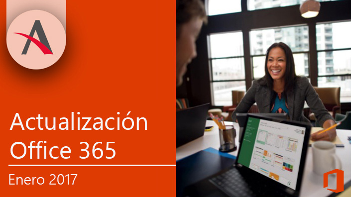 Ya está disponible la actualización de Office 365 para enero