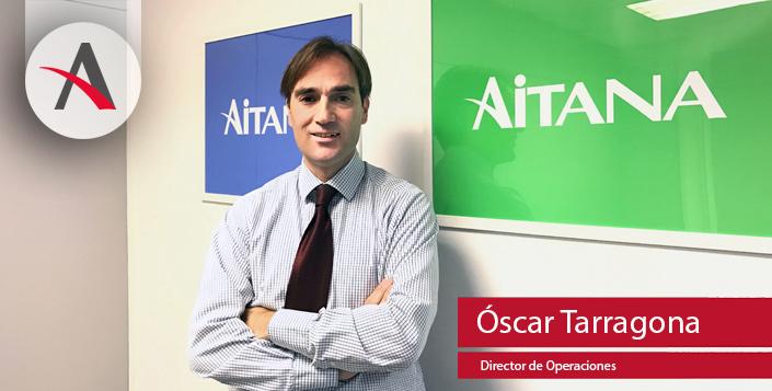 Aitana ficha a Óscar Tarragona como director de Operaciones