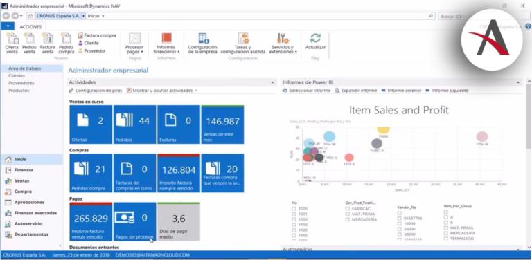 Gestiona tu empresa con Microsoft Dynamics NAV: visión global y ejemplos prácticos