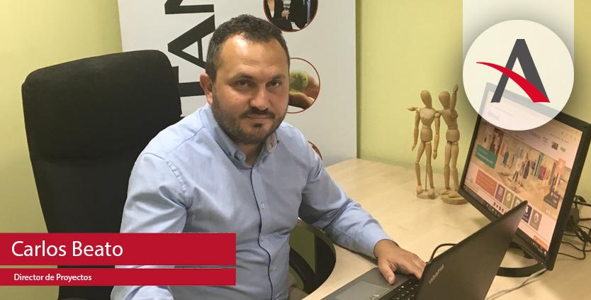 """Carlos Beato, director de proyecto de Aitana: """"Mi reto en Aitana es crecer como empresa, como equipo y como persona"""""""