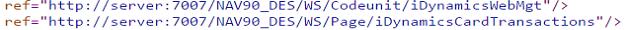 Integración web con los servicios de Microsoft Dynamics NAV mediante .NET