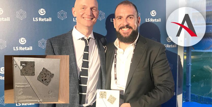 Aitana se convierte en el primer partner español con la distinción LS Retail Platinum