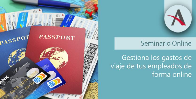 Gestión de gastos de viaje de forma online