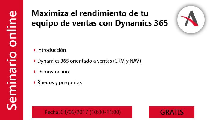 Maximiza el rendimiento de tu equipo de ventas con Dynamics 365