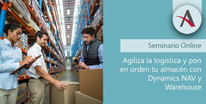 Agiliza la logística y pon en orden tu almacén con Dynamics NAV y Warehouse