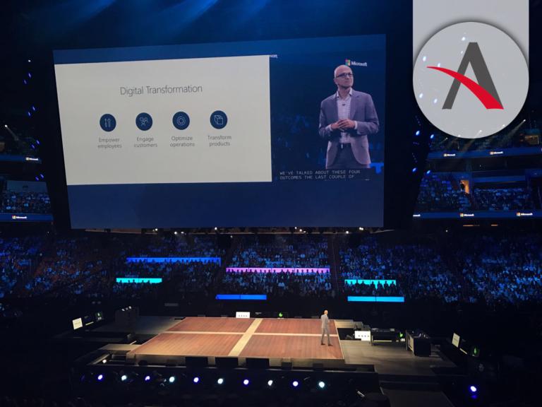 #MSInspire 2017 · Satya Nadella anuncia la nueva plataforma Microsoft 365