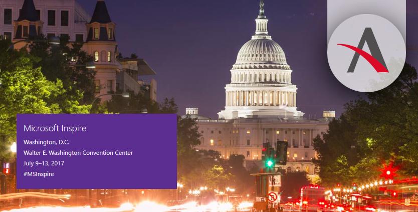 Aitana asiste al Microsoft Inspire 2017 en Washington, D.C.