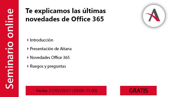 Te explicamos las últimas novedades de Office 365