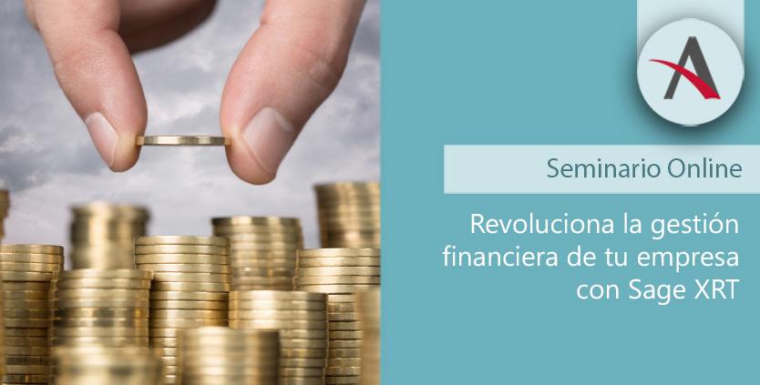 Revoluciona la gestión financiera de tu empresa con Sage XRT