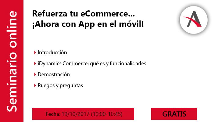 Refuerza tu eCommerce... ¡Ahora también con App en el móvil!