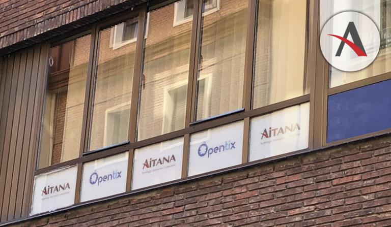 Aitana sigue creciendo e inaugura oficina en Palencia
