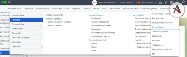 Términos, definiciones y mejoras de Sage X3
