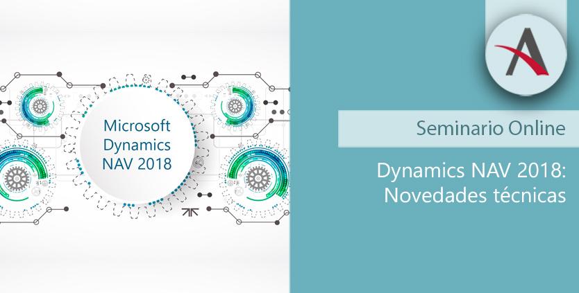 Novedades técnicas de Dynamics NAV 2018