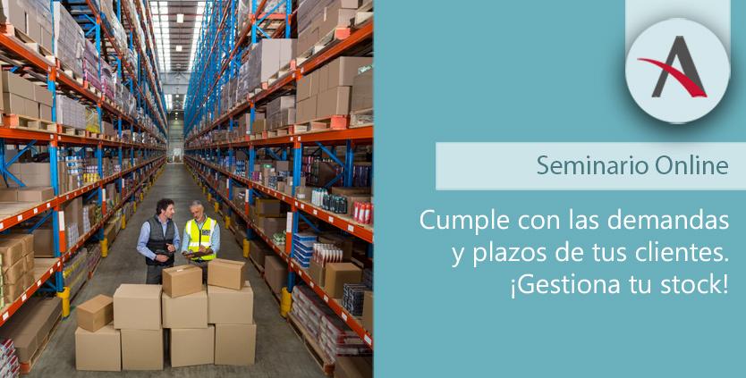 gestión almacén y stock Sage x3