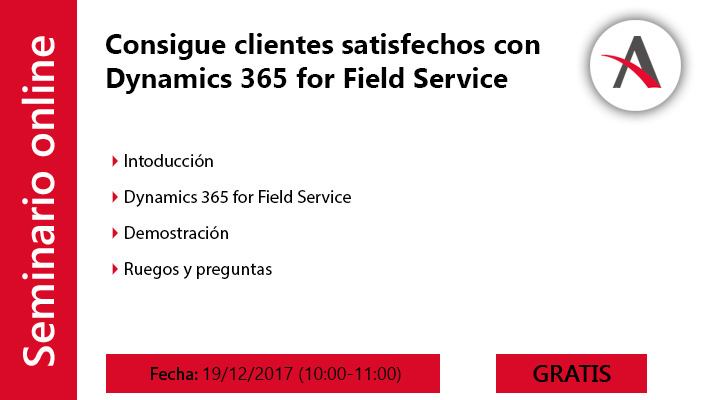 webinar dynamics 365 for field service aitana