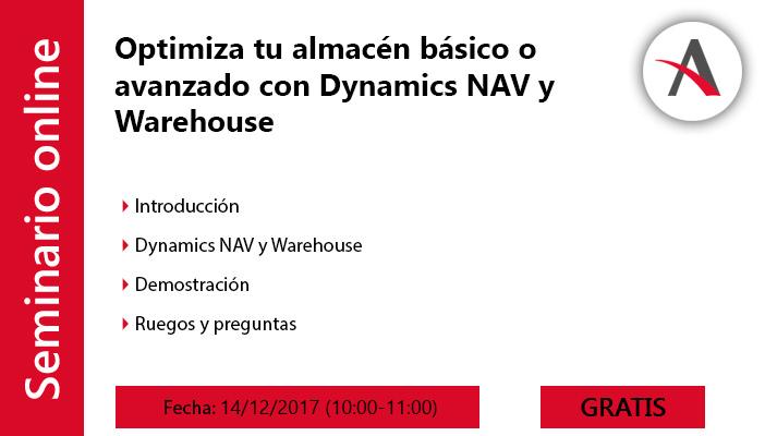 Optimiza tu almacén básico o avanzado con Dynamics NAV y Warehouse