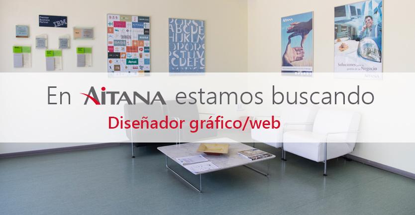 Aitana busca Diseñador Gráfico / Web en Valencia