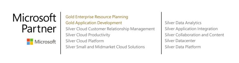 Conseguimos la competencia Gold Application Development de Microsoft