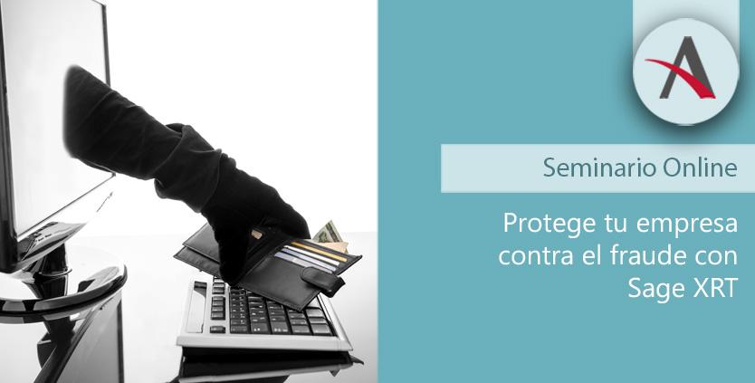 Protege tu empresa contra el fraude con Sage XRT