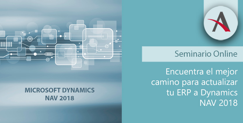 Encuentra el mejor camino para actualizar ERP a Dynamics NAV 2018