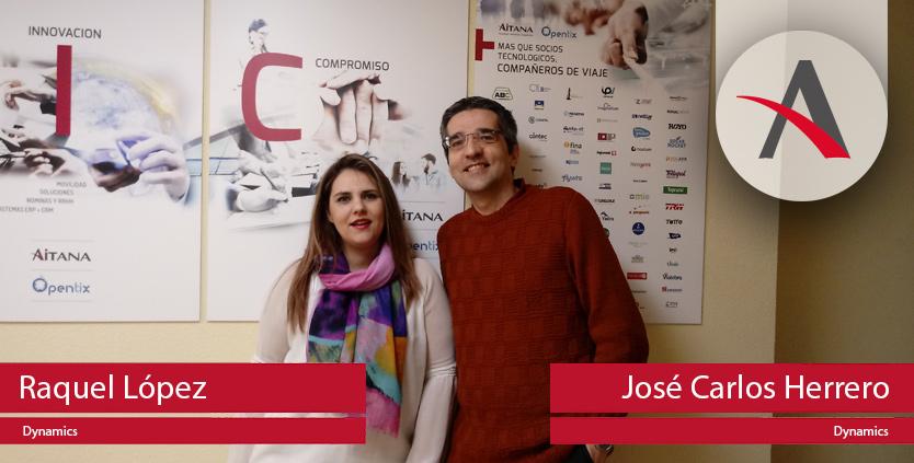 Raquel y Jose nos abren las puertas de la Oficina de Aitana en Palencia