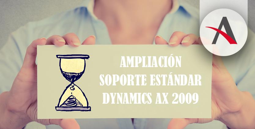 El soporte estándar para AX 2009 se prolonga hasta el 9 de octubre